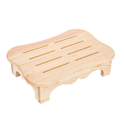 Toilet Assistance Steps Toilet Stool Toilet Stool For Adults Toilet Stool For Toddlers Foot Stool Solid Wood Small Stool Living Room Office Footrest Footrest Bathroom Toilet Non-slip Wooden Stool Chil
