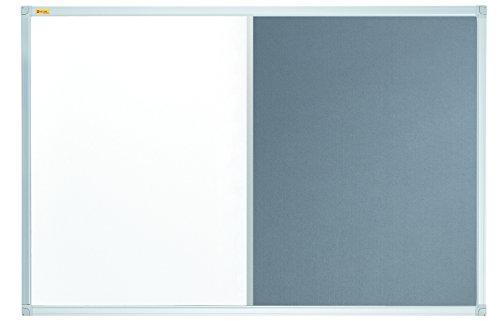 Pinnwand mit blauem Filz ca 80 x 120 cm mit Alurahmen Filzboard