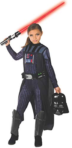 Rubie's Girls Star Wars Classic Darth Vader Costume, Small