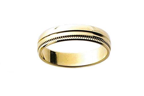 POLINA-www.diamants-perles.com-Alliance, matrimonio, oro giallo, 750/1000-18 carati, larghezza: 4 mm, In oro giallo 750/1000, 32, cod. FB2015820-72