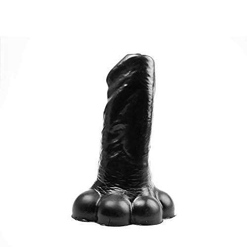 BubbleToys - Hulk - Schwarz - Extra Large XL XXL dildo penis Base: 11 cm Med: 9,7 cm