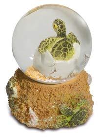 Bric a Breizh Schneekugel, Schildkröte, 6,5 / 5,2 / 5,2 cm