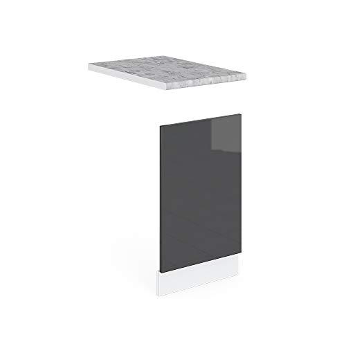Vicco Küchenschrank R-Line Hängeschrank Unterschrank Küchenzeile Küchenunterschrank Arbeitsplatte, Möbel verfügbar in 6 Dekoren
