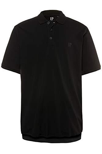 JP 1880 Herren große Größen bis 8XL, T-Shirt, Poloshir, JP1880-Brustdruck, Bauchshirt, Piqué, schwarz 3XL 712617 10-3XL