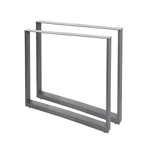 Bastidores para mesa 70x72 cm Recubrimiento polvo gris