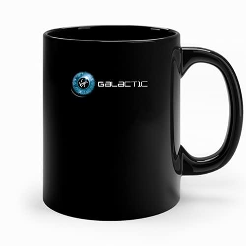 Virgin Galactic Logo Slim Fit Mug Summer Graphic Spacex Coffee Cup For Men Hot Trending Coffee Cup Women Fashionable - Mug Coffee - 5049