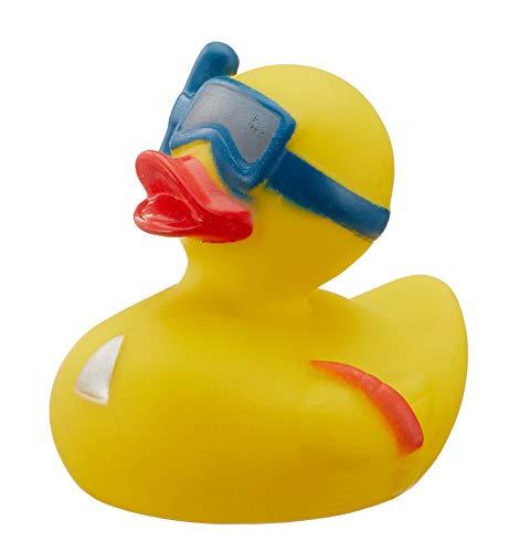 MIK Funshopping Badeente Quietscheente Badewannenspielzeug (Ente Taucher)