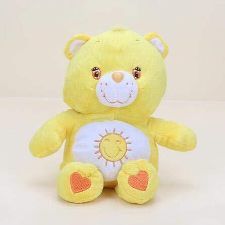 Troetelbeertjes Knuffel, Regenboog Teddybeer Gevulde Pop, Babyslaap Speelgoed, Verjaardagscadeau Voor Kinderen 30 Cm (Geel)
