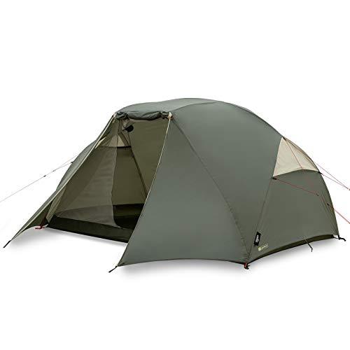 Qeedo Light Birch 5 Trekkingzelt, kleines Packmaß, leicht - 5 Personen Campingzelt, windstabil