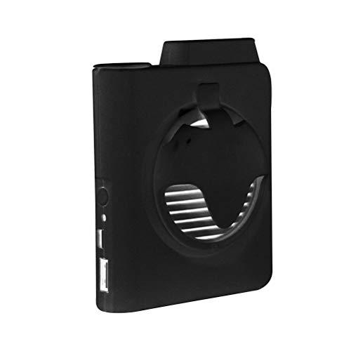 FreshWater Ventilador de cintura portátil ventilador de refrigeración de cintura con clip eléctrico en la cintura Ventilador personal alimentado por USB para senderismo al aire libre camping