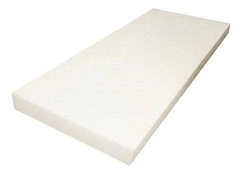 Mybecca High Density Firm Seat Replacement, Upholstery Sheet Foam Padding, 5' H 24' W 72' L