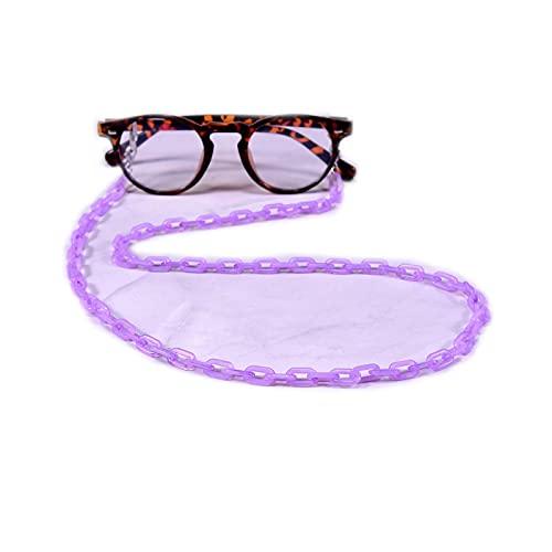 Eyeglass - Cadena de cordón para gafas y gafas de sol, con cordones antideslizantes, cuello y lectura
