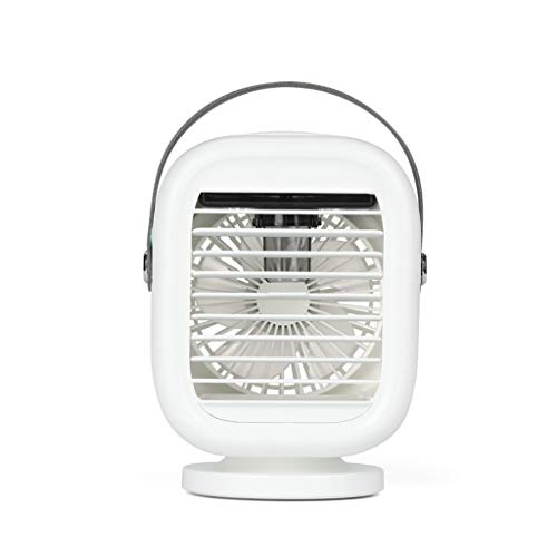 Ventilador pequeño USB Dormitorio de Estudiantes pequeño Oficina silenciosa Escritorio de Carga portátil Mini Aire Acondicionado pequeño artefacto de refrigeración Cama de Viento Grande enfriamiento