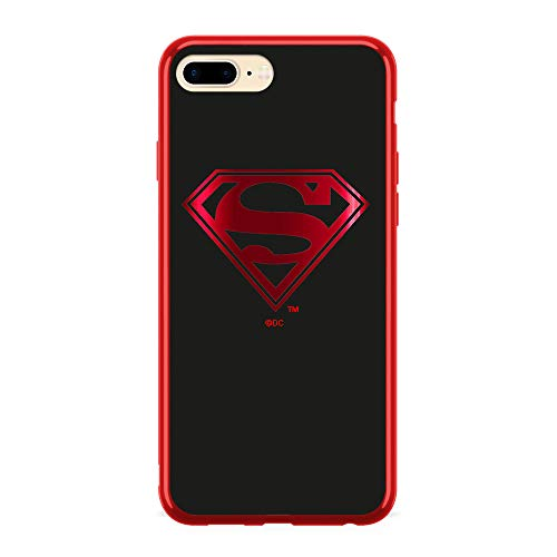 ERT GroupWPCSMAN1505 Cubierta del Teléfono Móvil, Superman 004 iPhone 7 Plus/ 8 Plus