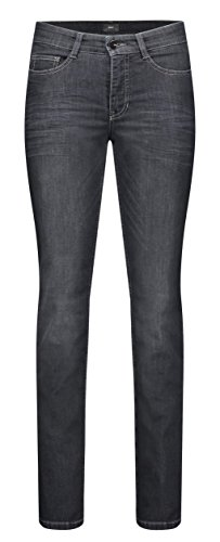 Mac Damen Jeans Angela for Ever Dark grau Used - 40/34