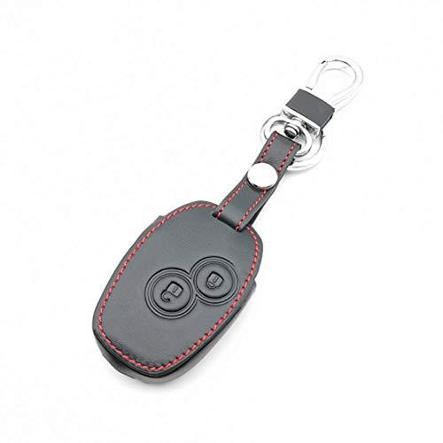 ATMASDO Accesorios para llaves de coche Funda de cuero para llaves de coche, para Renault Megane Clio Logan Kadjar 1 2 3 Scenic