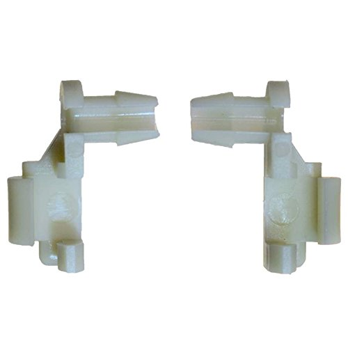 PT Auto Warehouse BCF8898T - Tailgate Handle Rod End Retainer Clip - Replace OE #: 88981030, and OE #: 88981031, Set of 2 Retainer Clips