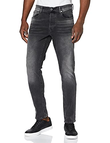 G-STAR RAW 3301 Slim Fit Jeans, Antic Charcoal B479-A800, 28W / 30L Homme