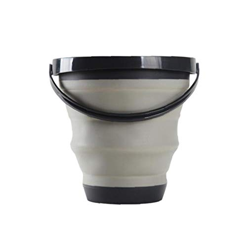 JPXyDfxn Creativo Plegable Cubo De Agua Plegable Portable Función De Gran Capacidad...