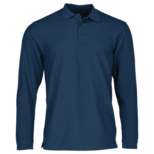 Fruit of the Loom SS037M Polo, Bleu-Blue (Navy Blue), x-Large Homme