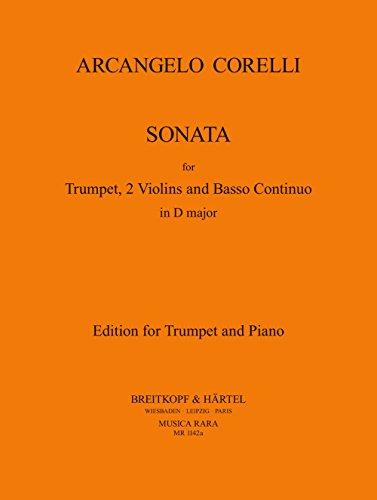 Sonata in D - Ausgabe für Trompete und Klavier (MR 1142a)