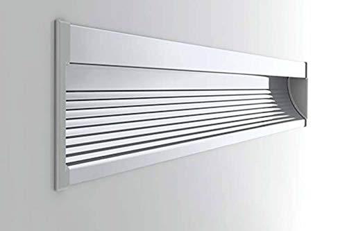 Perfil conducto barra de aluminio con LED empotrable de pared de pladur para personalizar el foco, LED de 1metro para caminos