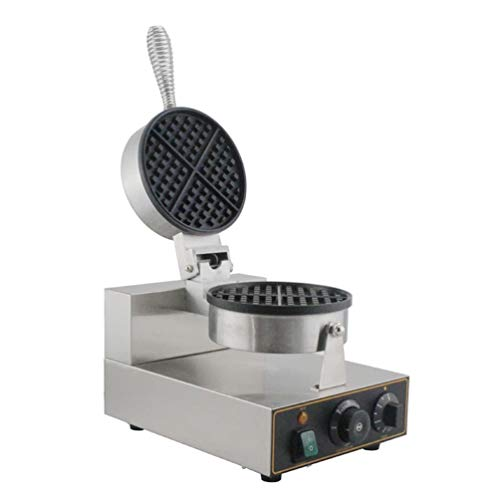 Commercial Waffle Maker Electric Waffle Baker Non Stick Waffle Making Machine Bubble Iron Plate Cake Oven