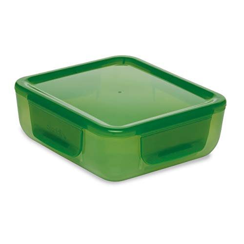 Aladdin Non-Insulated Food Container with Easy-Keep Lid, Green, 0.7 Litre