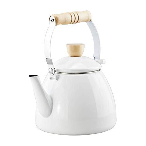 Chen Céramique Macarons Couleur Bouilloire Santé Pot Café Pot Cuisinière À Induction Accueil Épaississement Restaurant 2.2L Cruche