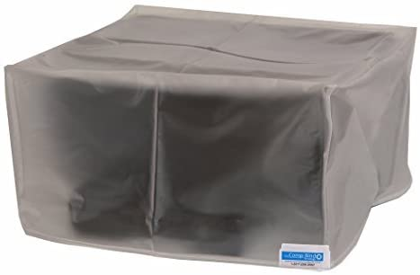 Comp Bind Technology Printer Dust Cover for HP Envy 7640 Wireless e-All-in-One Printer Vinyl Dust Cover, Anti-Static and Double Stitched - 18.25''W x 16.75''D x 7.25''H