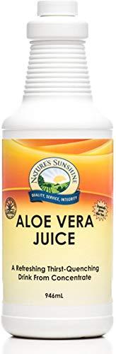 Natures Sunshine Aloe Vera Juice 32 Fl Oz