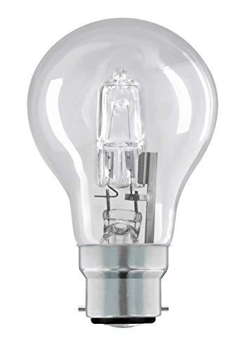 Eco Halogen Classic 70 W BC B22 Bajonettsockel 70 W Eqv bis 92 W 1180 Lumen 3 + 1 Leuchtmittel gratis