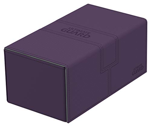 Ultimate Guard 200 Card Twin Flip N Tray Xenoskin Deck Case, Purple