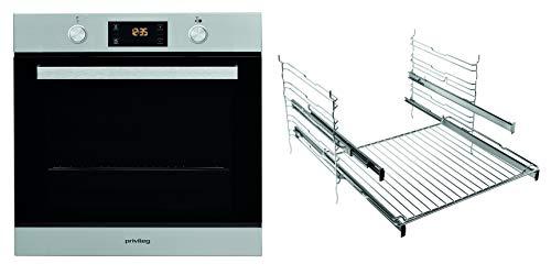 Privileg PBWR6 OH5V2 IN Einbau-Backofen / A+ / 71 L / Hydrolyse-Reinigungsfunktion / Backauszug mit 2 Ebenen / Multifunktions-Umluftbackofen mit 7 Funktionen / Edelstahl / Turn&Cook / Click&Clean / Ve