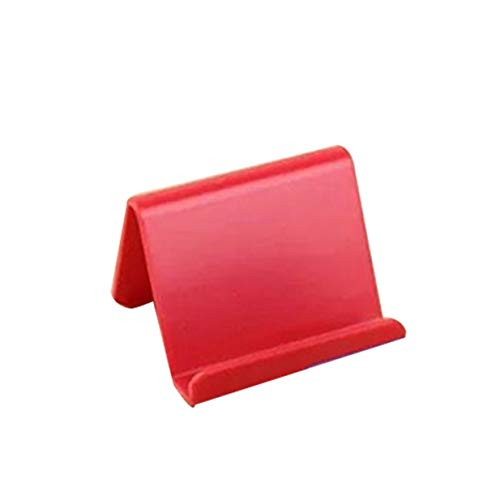 Timetided Soporte Universal para teléfono móvil Soporte de Escritorio de Mesa Soporte de Escritorio de plástico Soporte portátil para teléfono Inteligente