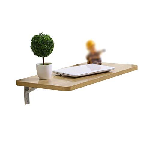 De Pared Simple Escritorio de la Tabla del Escritorio del Ordenador Consola Plegable Tabla de Planchar Cocina melamina contra la Pared Comedor (Size : 90 * 40cm)