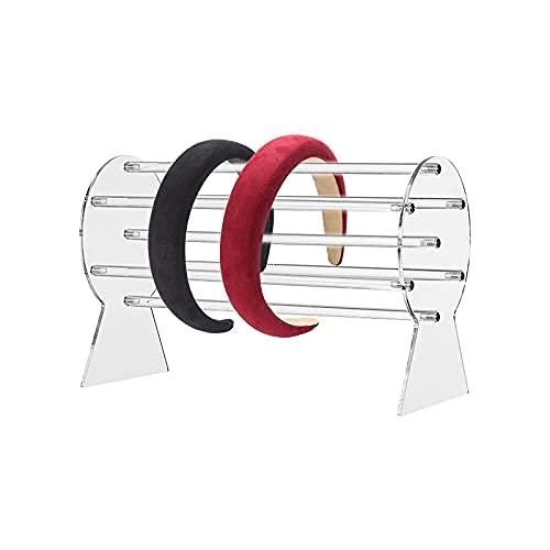 DriSubt Schmuckständer Transparent Schmuckhalter Schmuck Organizer für Schmuck, Uhren, Ketten, Armbänder, Haarreifen Ständer, Armband Uhr (1Stück)