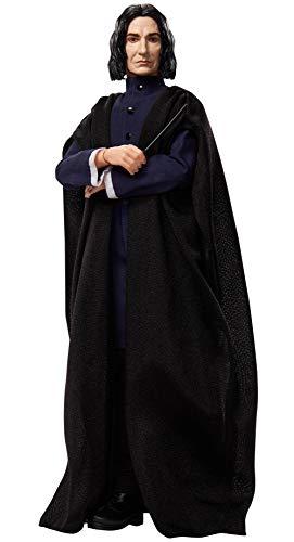Harry Potter poupée articulée Severus Rogue avec un costume en tissu et sa baguette magique, à collectionner, jouet enfant, GNR35