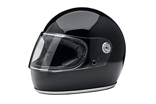 Casco integral estilo retro