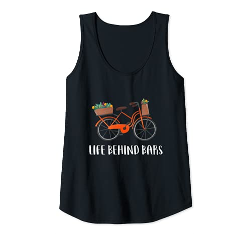 Donna Life Behind Bars Bicicletta Spin Bike Trainer Ciclismo Cyco Canotta