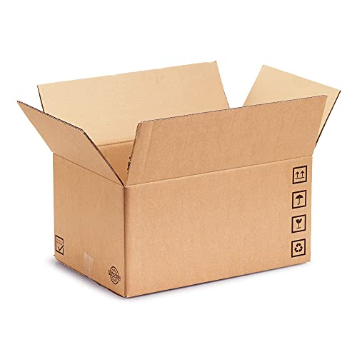 Semprepronte 10 Scatole di Cartone 40x30x30 Resistenti Fino a 50kg - Made in Italy - Imballaggio per Trasloco e Spedizioni - [Rif 6]