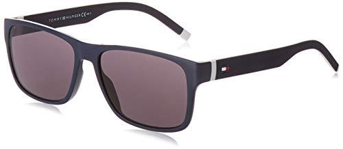 Tommy Hilfiger TH 1718/S gafas de sol, BLANCO AZUL, 56 para Hombre