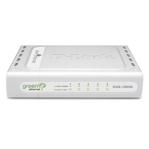 D-Link DGS-1005D/B GIGABIT-Switch (5-Port, 10/100/1000 UNMANAGED IN)