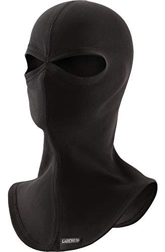 Ladeheid Hombre Pasamontañas Máscara de Esquí Silverplus Termoactiva HR 04 (Negro, M/L)
