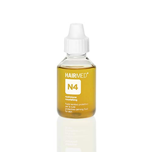 HAIRMED - N4 Olio Pre Shampoo Idratante Cute Secca - Fluido Lenitivo per Cuoio Capelluto Secco e Irritato - 100 ml