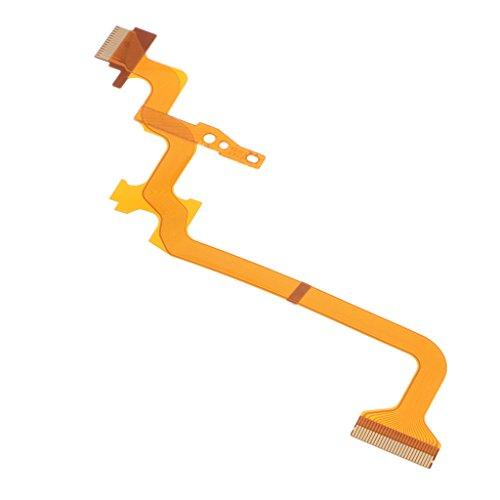 Reparación De 1 Pieza para JVC GZ-MS230 MS215 MS216 HM300 MG750 HD520 HD620 Cámara De Video Unidad De Cable Flexible LCD Reemplazar Ensamblaje
