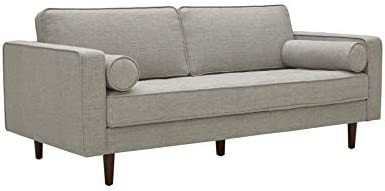 Best Amazon Brand – Rivet Aiden Mid-Century Sofa with Tapered Wood Legs, 74