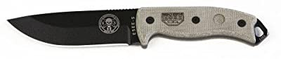 ESEE Knives 5P Fixed Blade Knife w/Kydex Sheath