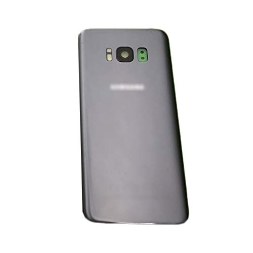 RKRLJX Carcasa Protectora Impermeable Cubierta Trasera Puerta Trasera Fit For Samsung Galaxy S8 G950 SM-G950F S8 Plus G955 G955F S8 Tapa De Vidrio Trasero (Bundle : S8, Color : Gray)
