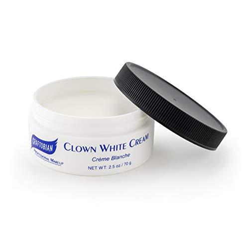 Clown White Cream 2.5 oz.
